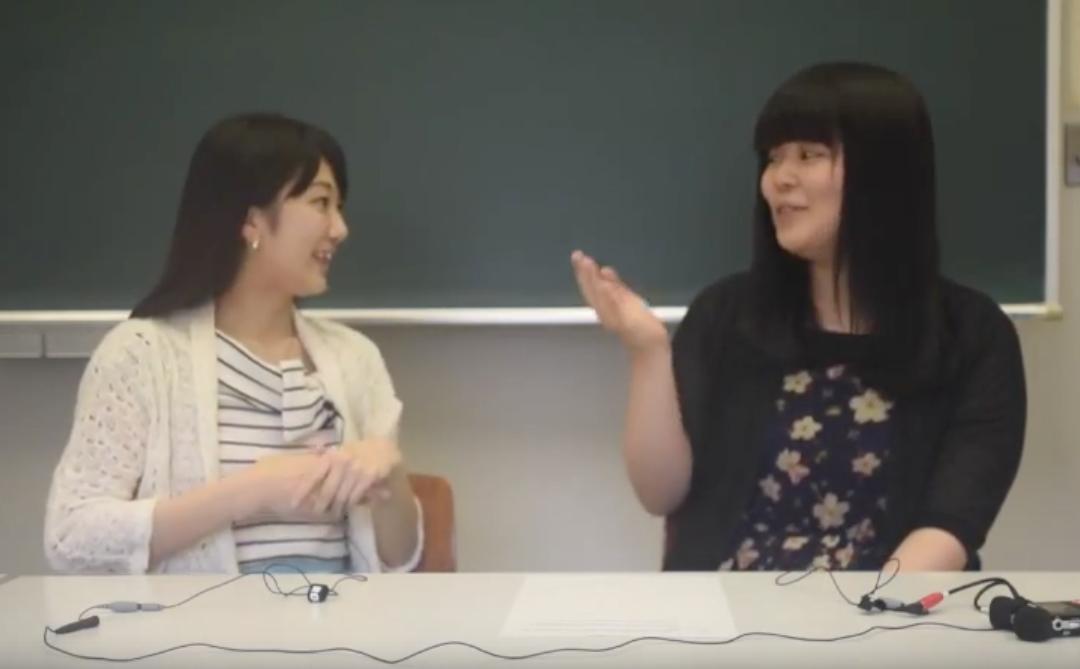 Ayaka and Nanami