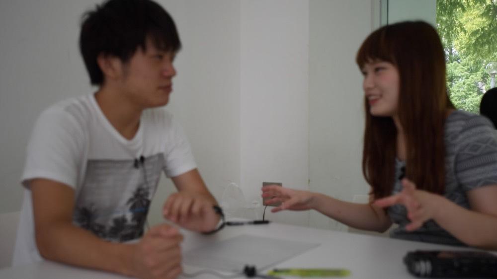 Yuusei and Natsumi
