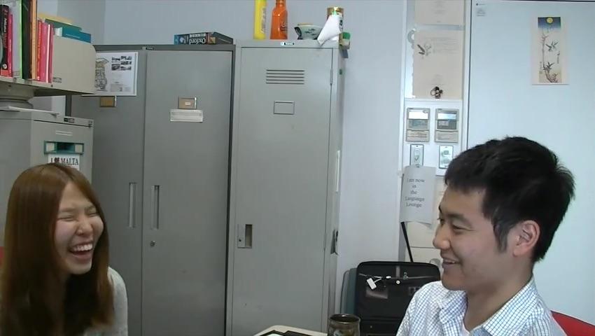 Kohei and Megumi
